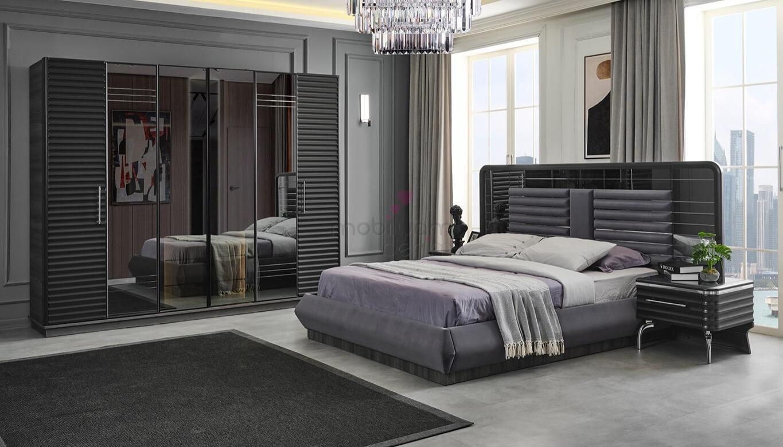 Asil Antrasit Yatak Odası Takımı